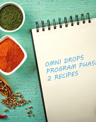 Omni Drops Diet Program Phase 2 Recipes